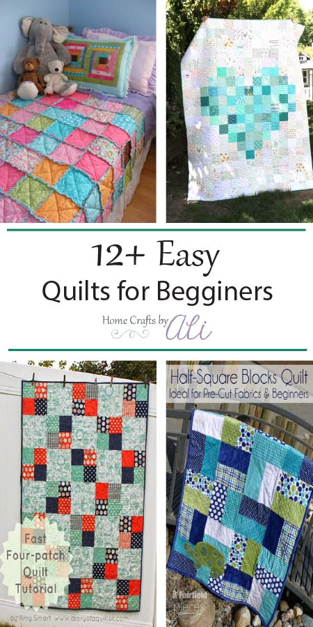 Easy Beginner Quilt Tutorials