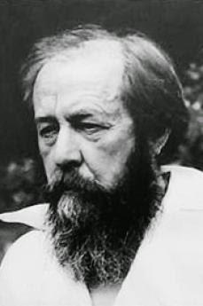 Lo scrittore Aleksandr Solženicyn