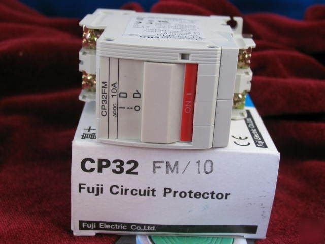 Circuit Protector Cp32 Fm 10 10a 2 Pole 240v Fuji Electric