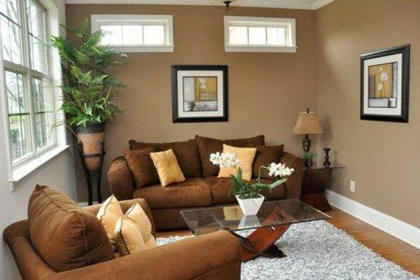 Wohnzimmer In Braun Und Beige Einrichten – 55 Wohnideen – Ragopige