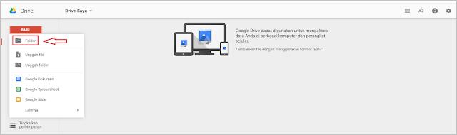 Google Drive merupakan sebuah layanan gratis yang disediakan oleh google bagi para pemili Cara Membuat Google Drive Terbaru