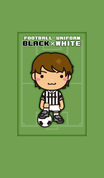 FOOTBALL UNIFORM [BLACK x WHITE]