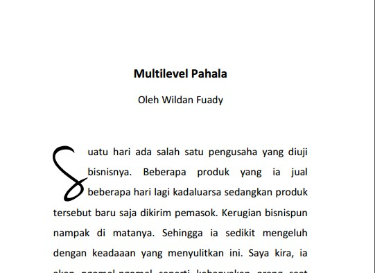 Download Ebook Inpisrasi Multilevel Pahala