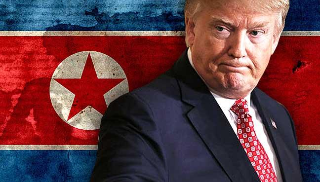 O presidente dos Estados Unidos, Donald Trump, deu mais um aviso à Coreia do Norte nesta sexta-feira, afirmando que as armas norte-americanas estão prontas e carregadas.