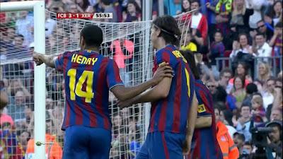 LFP-Week-34 Barcelona 3 vs 1 Xerez 24-04-2010