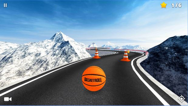 BasketRoll 3D Rolling Ball Mod Apk Android
