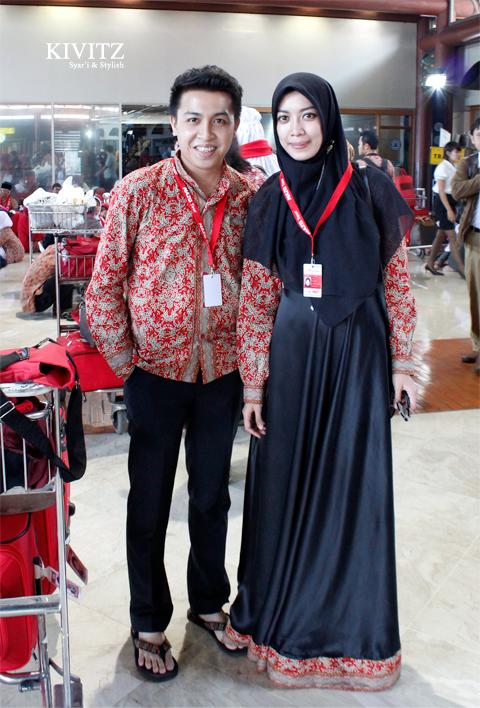 10 Inspirasi Model Baju Batik Couple Terbaru 2017 Gaya