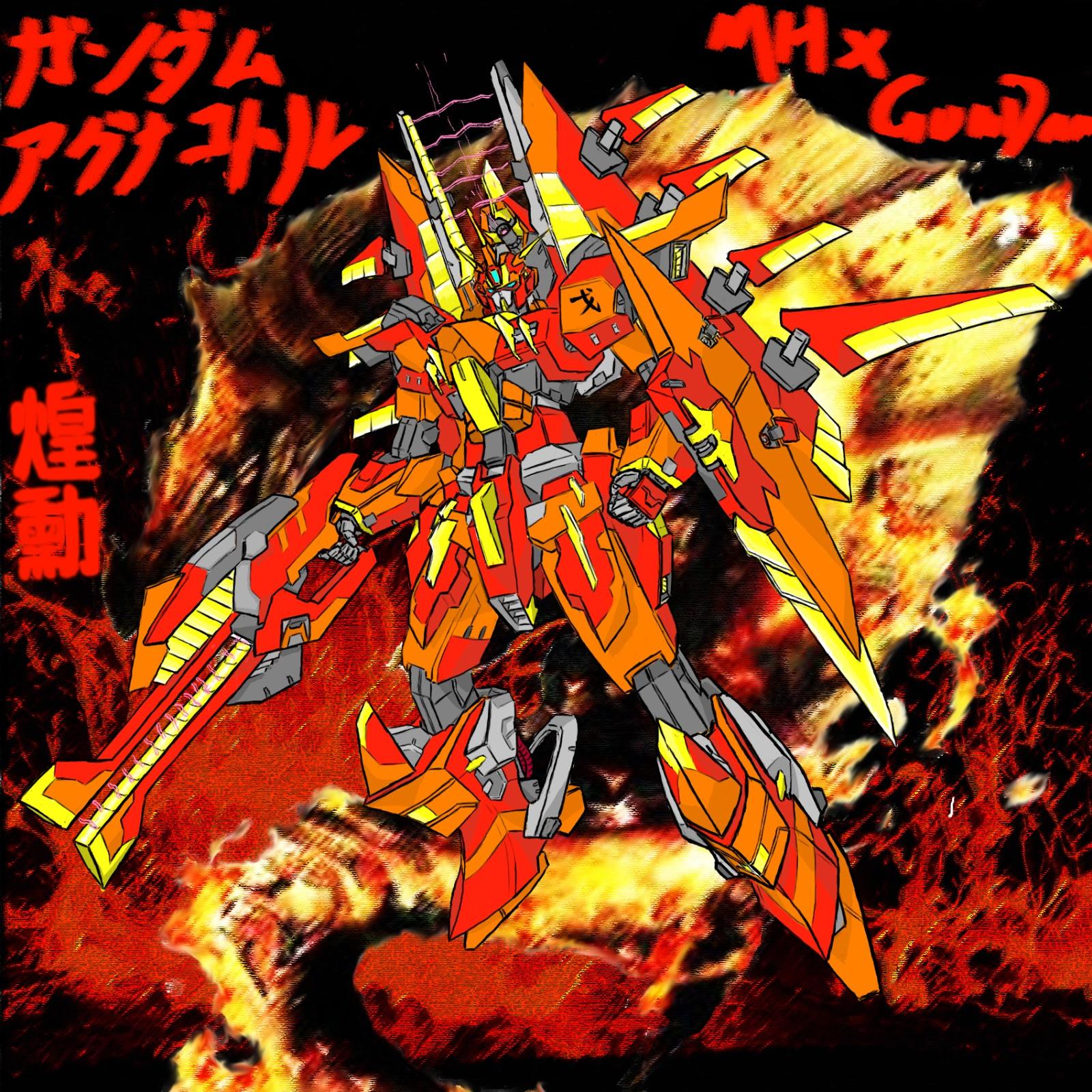 GUNDAM GUY: Monster Hunter x Gundam - Artwork by AM-Worst