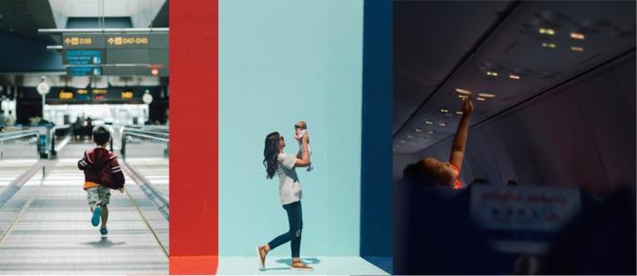 Viaggiare in aereo con i bambini