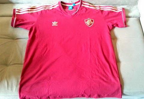 camisetasdefutbolcentro2015  Adidas camiseta Fluminense 2015 casa ce8b5e0d82c92