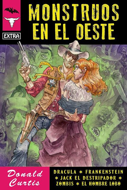 Monstruos en el Oeste, por Donald Curtis (Curtis Garland)