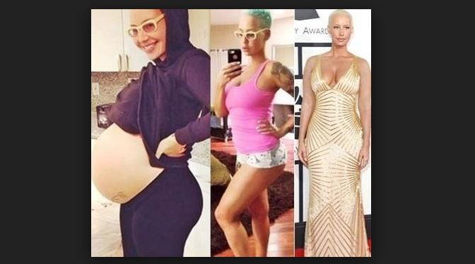 Amber Rose Antes Y despues
