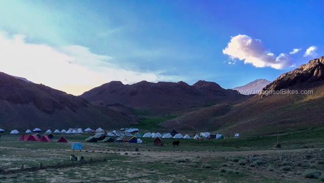 chandratal camp