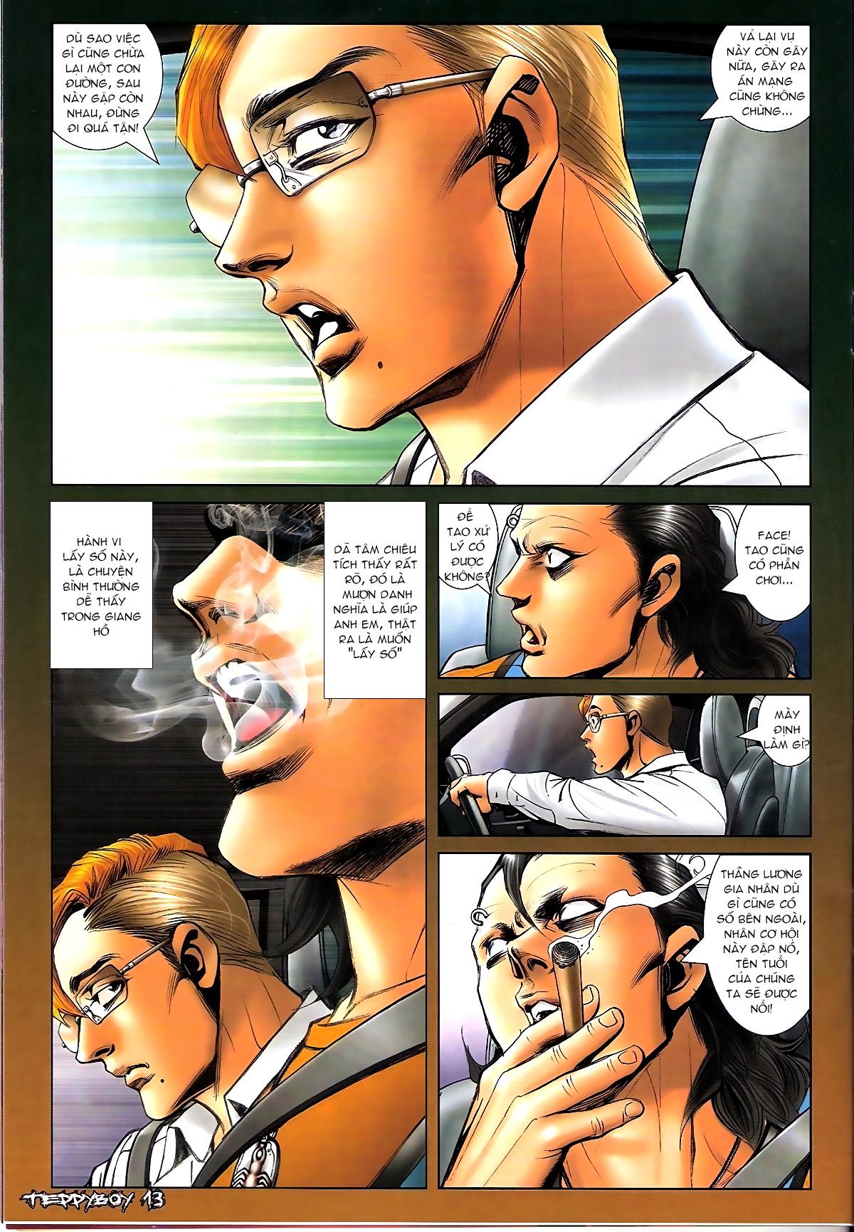 Người Trong Giang Hồ - Chapter 1331: Chạm trán - Pic 11