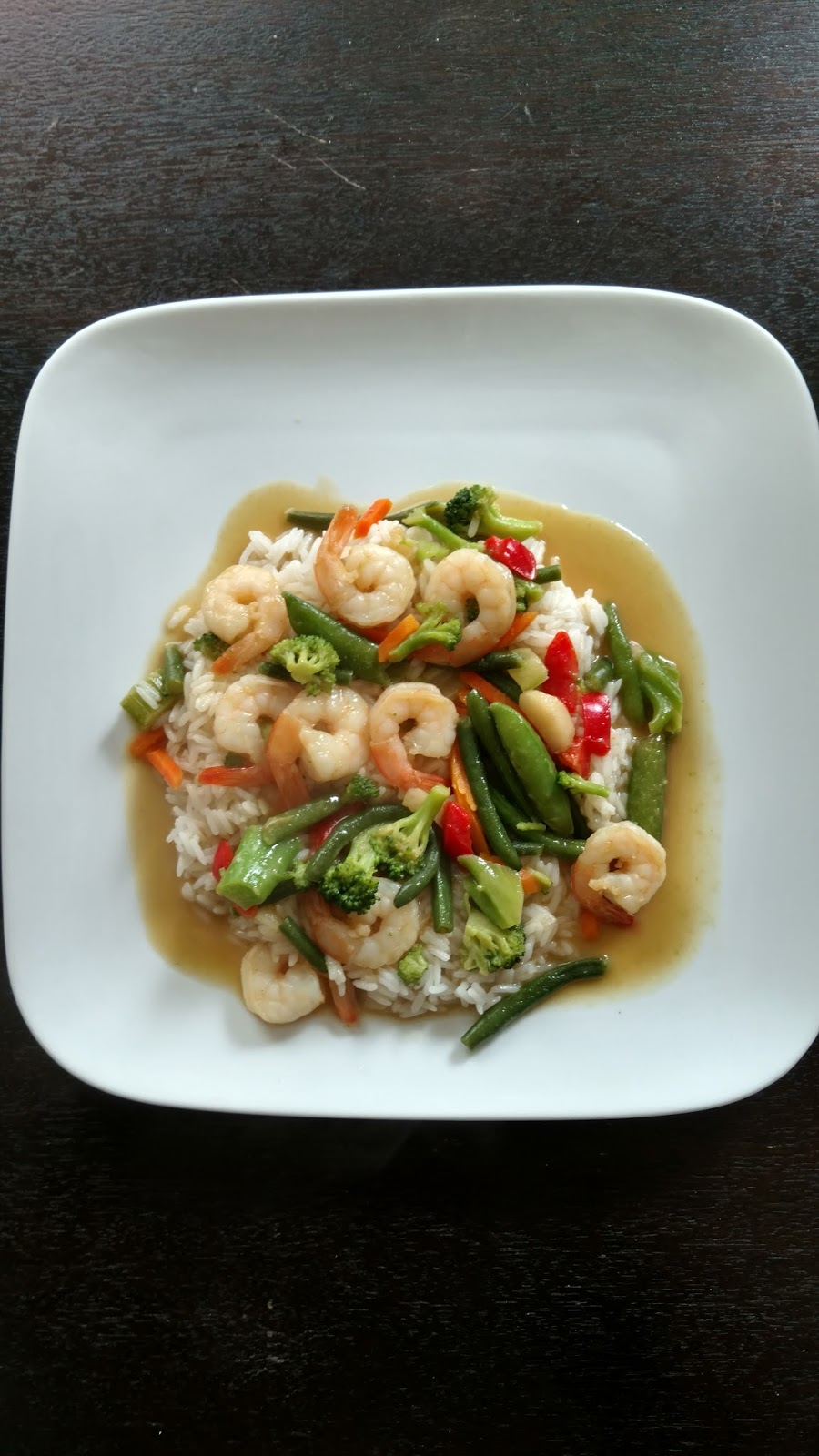Cutie Booty Cakes: Thai Green Curry with shrimp