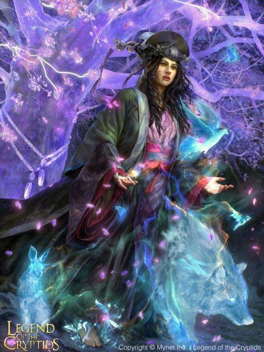 Randy Vargas vargasni deviantart artstation arte ilustrações fantasia games legend of the cryptids