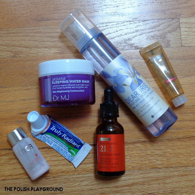 January 2017 Product Empties