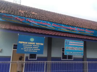 Gedungn Sekolah Menengah Pertama Muhammadiyah 04 Tanggul Jember