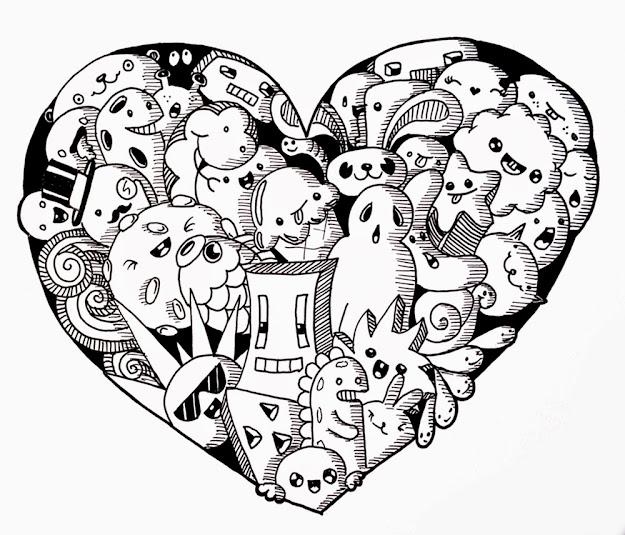 Thumbs Up Cartoons Planner Doodlesmurusharpie Artmandala Coloringdoodle
