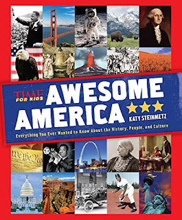 Awesome America is filled with easy-to-read facts about what makes America so great.
