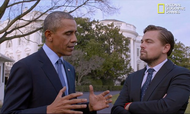 Leonard DiCaprio Documentary on Climate Change #BeforeTheFlood