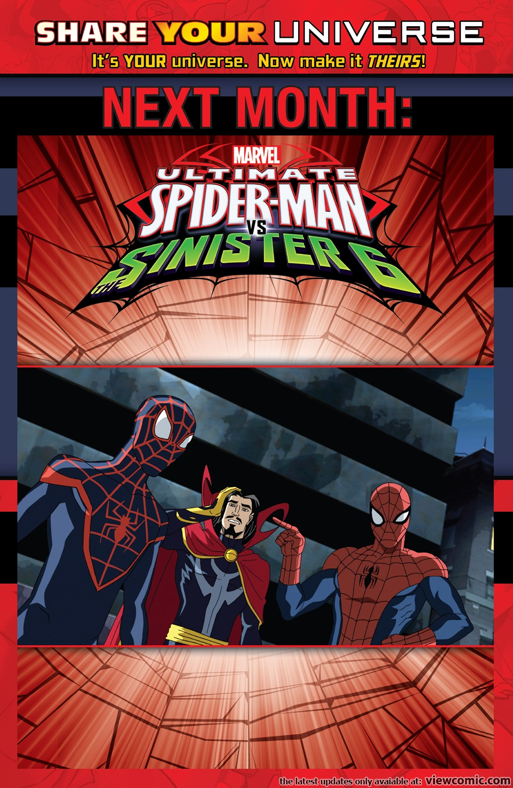 marvel universe ultimate spider man vs the sinister six 002 2016