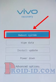 Reboot system Recovery