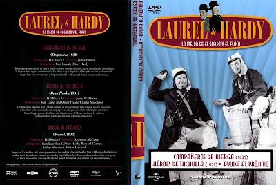 Cover, dvd, carátula: Héroes de tachuela. El Gordo y el Flaco | 1931 | Beau Hunks
