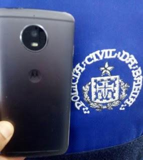 Polícia recupera celular roubado