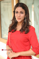 Actress Lavanya Tripathi Latest Pos in Red Dress at Radha Movie Success Meet .COM 0133.JPG