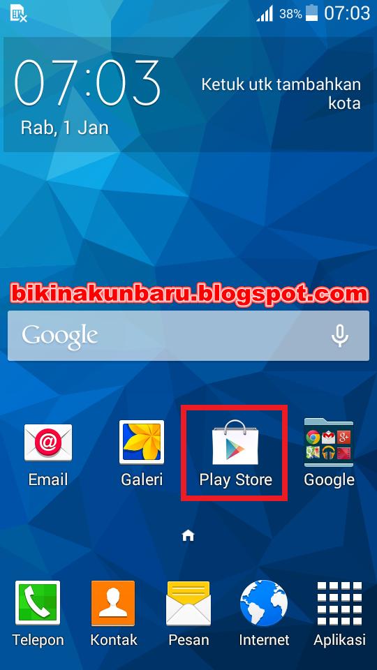 buat akun baru google play store daftar email play store contoh cara buat. Black Bedroom Furniture Sets. Home Design Ideas