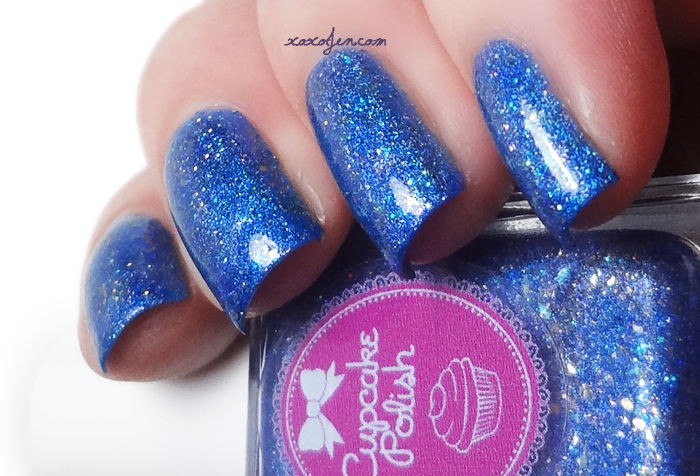 xoxoJen's swatch of Cupcake Polish Menorah-ty Opinion