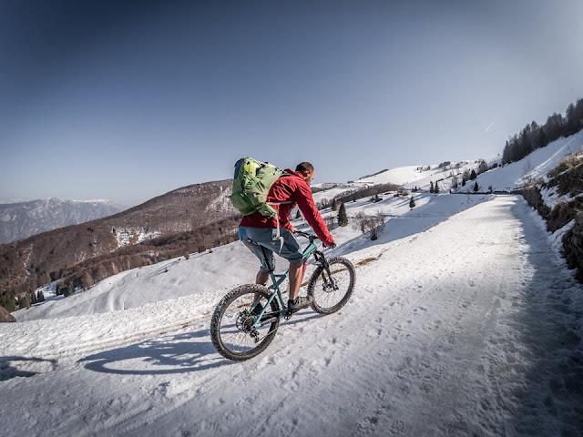 Uphill Monte Vignola Mountainbike