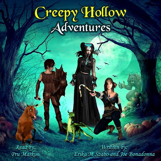 Cover Reveal: Creepy Hollow Adventures