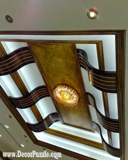 luxury false ceiling design for classic interior, pop ceiling design catalogue 2018