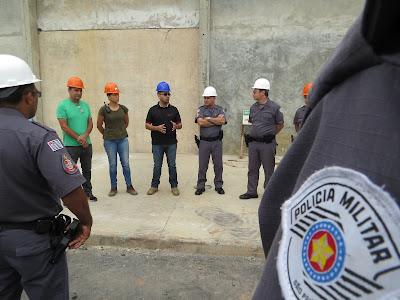 POLÍCIA MILITAR REALIZA VISITA TÉCNICA NO FUTURO CENTRO DE DETENÇÃO PROVISÓRIO DE REGISTRO-SP