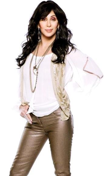 Foto de Cher con cabello suelto