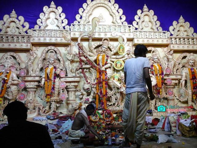 BNR Ground, Kharagpur, kharagpur festival, kharagpur durga puja,