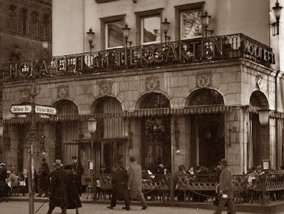 Café Moka Efti de Berlín en 1930
