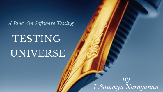 Testing Universe - Software Testing | Techniques | Concepts | Methodologies| Thoughts