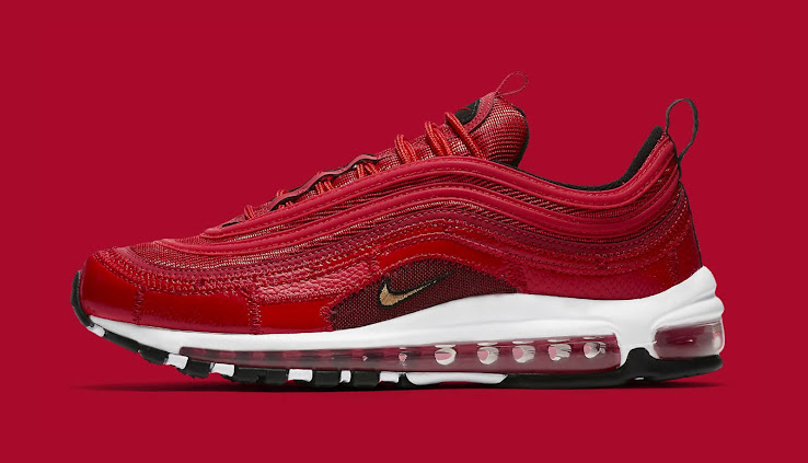 premium selection 55e57 870ce Nike Air Max 97 CR7 - University Red   Black   Gold
