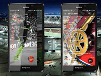 BBM MOD theme Arsenal Full Features Terbaru