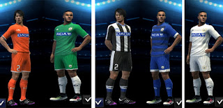 PES 2013 Udinese Calcio 2016-2017 Full Kits By Antonelli
