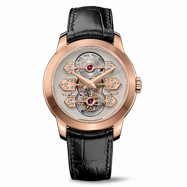 Girard-Perregaux Tourbillon with three gold Bridges Watch pink gold