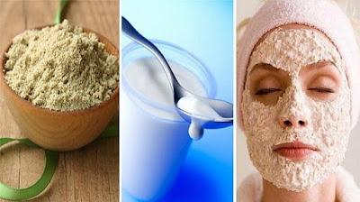 Tẩy tế bào chết trên da mặt bằng cám gạo và sữa tươi