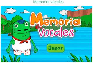 MEMORIA DE VOCALES