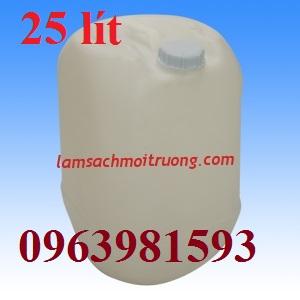 Can đựng hóa chất, can nhựa tròn, can vuông 20 lít giá rẻ