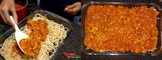 pasta, pizza, spaghetti, cheesy, cheesy pasta, food, foodie, food blog, food blogger, recipe, halal, eat, hungry, food pictures, marinara sauce, spicy, spicy food, fusion food, spicy cuisine, spicy pasta, chicken, chicken pasta, chicken recipe, pasta recipe, pasta pictures, spaghetti pizza recipe, spaghetti pizza, foodie, chef, cook, italian cuisine, spicy fusion kitchen, zainab dokrat