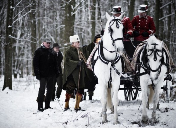 Prince Henrik Of Denmark Hunting In The Snow