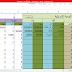 ملف اكسل محاسبة (محاسبة اكسل)جاهزة بالمعادلات يومية عامة وميزان مراجعة برنامج حسابات اكسل ،ملفات excel جاهزة